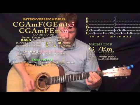 Ulay Oh (How I Became the Bomb) Guitar Lesson Chord Chart