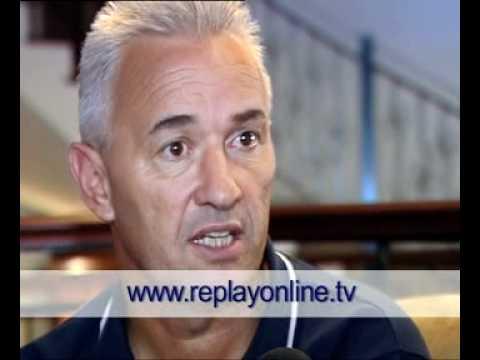 John Buttigieg speaks to www.replayonline.tv prior to Georgia's game (6th September 2011)