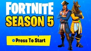 SEASON 5 SKINS LEAKED! (Fortnite: Battle Royale)
