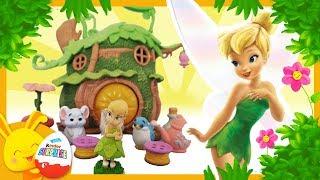 Histoire de la fée clochette et du Crocodile - Disney Animators Peter Pan - Touni Toys Titounis