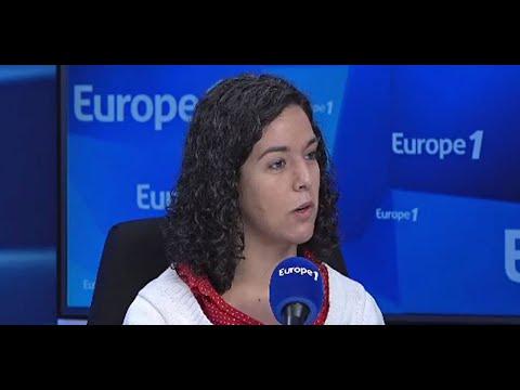 """Manon Aubry appelle à voter pour les Européennes : """"Ne laissez pas Emmanuel Macron remporter la b…"""