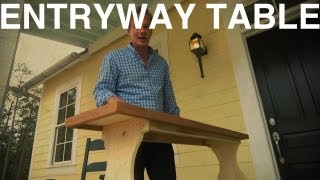Entryway Table | The Garden Home Challenge With P. Allen Smith