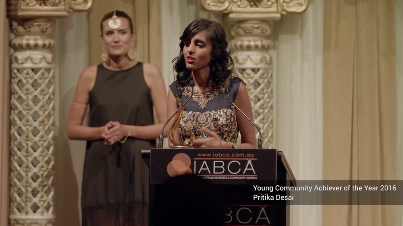 IABCA Winner of Young Community Achiever of the Year