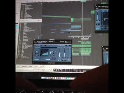 Manse - Producing a new track (in The Studio)