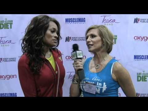 Alicia Marie & Tosca Reno chat about fitness & food!