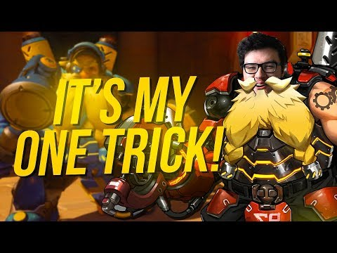 DYRUS | MY BABY!!! TORBJORN ONE-TRICK IN OVERWATCH W/ AMD