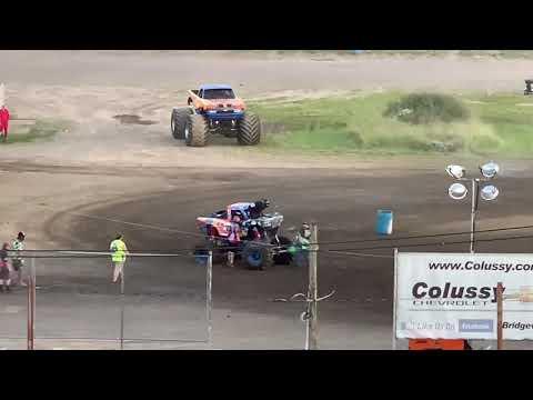 Monster Truck Showdown at Pittsburgh's Pennsylvania Motor Speedway