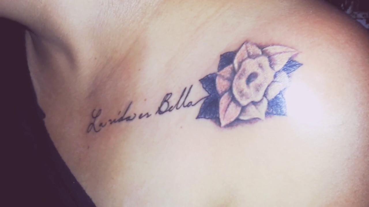 La Vida Es Bella Tattoo Youtube