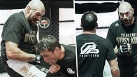 Elbows and knees! Tyson Fury trains UFC with Darren Till and looks like a beast 💥