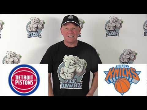New York Knicks vs Detroit Pistons 3/8/20 Free NBA Pick and Prediction NBA Betting Tips