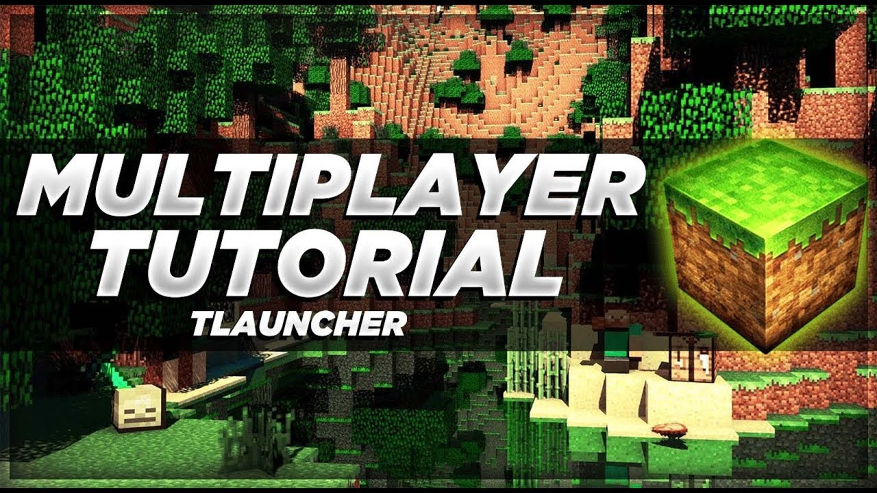 How to Play Multiplayer in Minecraft  Tlauncher  Bedrock or Java Edition   Tamil