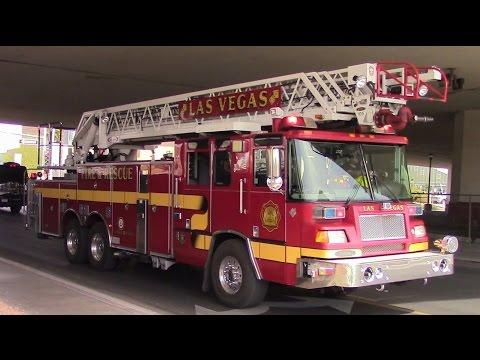 Las Vegas Fire & Rescue - Truck 1 Responding (x2)