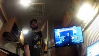 The best tv mount EVER and how I setup my TV to run on 12 Volts without an inverter