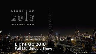 Burj Khalifa Dubai Light Up 2018  Multimedia show by AO Creative  Full version