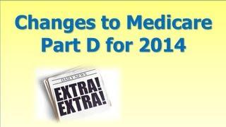 Medicare Part Changes