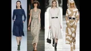 Офисные платья 2017-2018: модные тренды для деловых леди