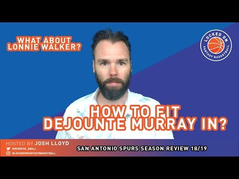 san-antonio-spurs-season-in-review-2018-19-|-how-will-dejounte-murray-fit-in-next-season?