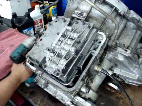 alfa romeo transmission valve body repair AAFFORDABLEAUTOSERVICE.COM - YouTube