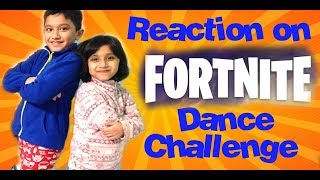 KIDS FORTNITE DANCE CHALLENGE IN REAL LIFE With HZHtube Kids fun (fr) Danse pour enfants (Kids Dance) Réaction drôle