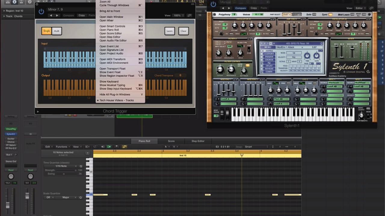 Tech House Chords (Prod-Cast Video Tutorials) #1