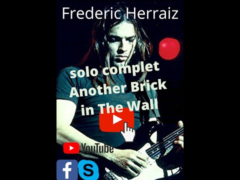 Tuto Another Brick In The Wall Pink flyod