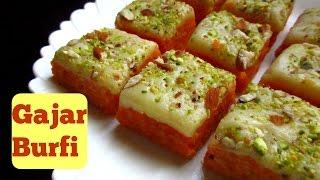 Gajar Burfi | Carrot Fudge | Indian SweetDish | Recipe by Ravinder