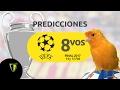 Predicciones Octavos de Final Ida 14-15 de Febrero - UEFA Champions League