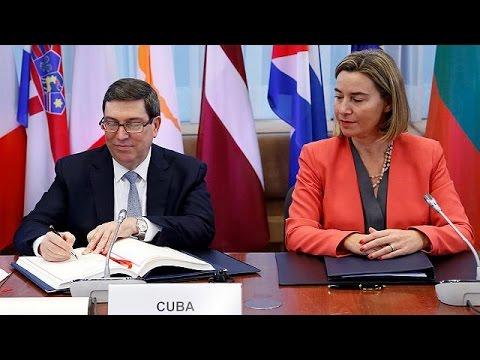 EU, Cuba move to mend ties after Fidel Castro