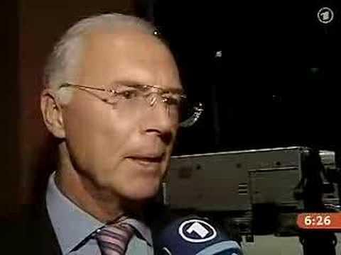 Frings/Beckenbauer/Ballack Interview - 03/10/06