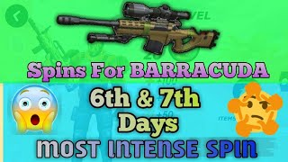 Spins for BARRACUDA || 6th & 7th Day || Trejo's Event || Guns of Boom ||