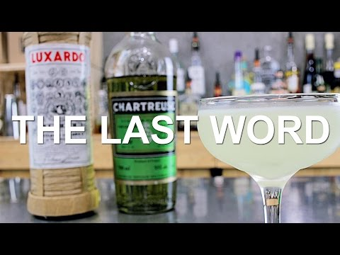 The Last Word Gin Cocktail Recipe - SURPRISING!!