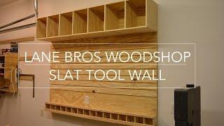 Slat Tool Wall  // John Heisz Design