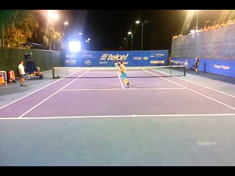 Andy Murray Service Acapulco Open 2014
