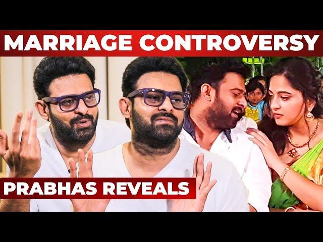 I dont understand these stupid baseless rumors - Prabhas
