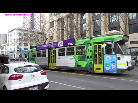 Trams of Melbourne, Australia - All Models 2017 (40 Minutes)