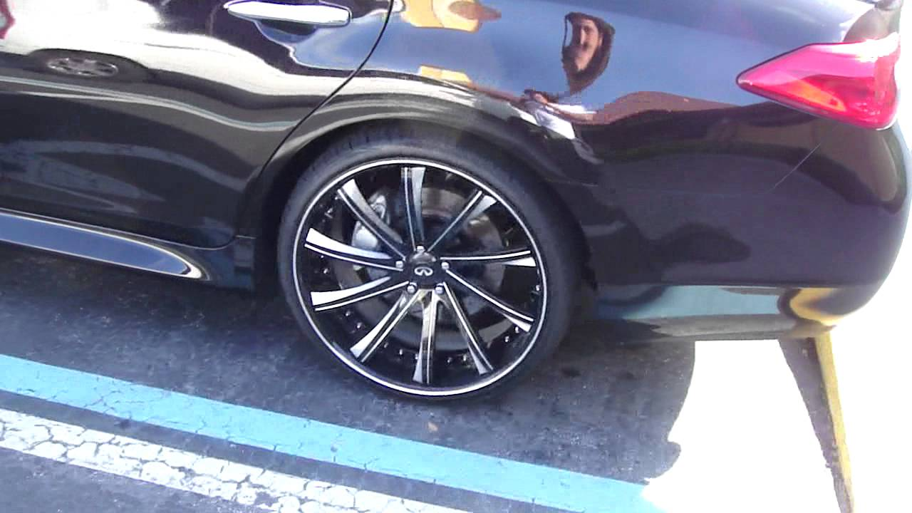 Infiniti m37 on rims that look like forgiatos dont know youtube vanachro Image collections