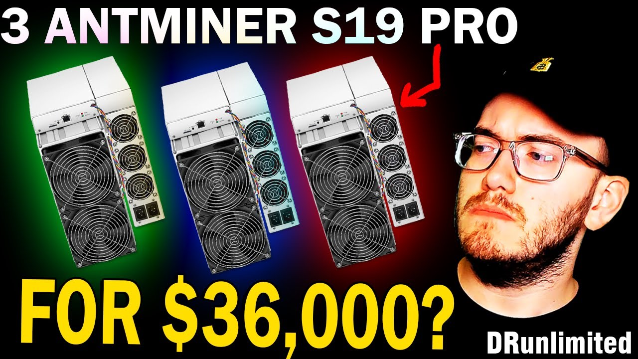 Download Bitcoin Mining with 3 Antminer S19 PRO ASIC Miners for $36,000 - Is it profitable in 2021?