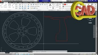 AutoCAD 3D, how to create a Rim in AutoCAD 2013: Part 1