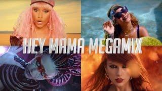 Hey Mama - T.Swift vs Katy Perry vs Beyoncé vs Justin Bieber vs Nicki Minaj & Lady Gaga