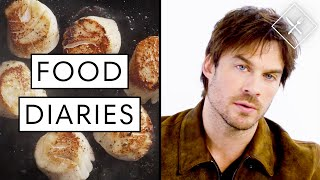 Everything Ian Somerhalder Eats in a Day | Food Diaries: Bite Size | Harper's BAZAAR