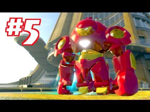 LEGO MARVEL SUPER HEROES - Gameplay Walkthrough Part 5 - 동영상