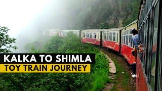 Kalka Shimla Train Journey | Toy Train Shimla