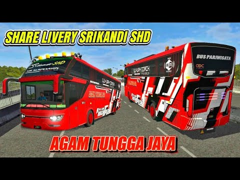 Download Livery Bus Shd Srikandi