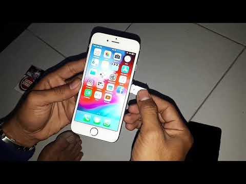 MENGATASI iphon 6s SIM TIDAK DI DUKUNG  iOs 11.13.