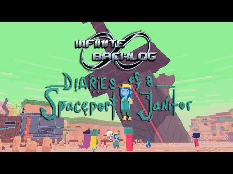 Diaries of a Spaceport Janitor Review