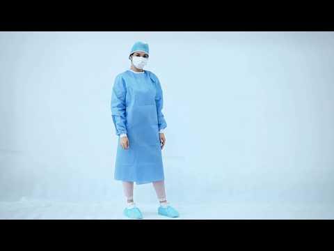 Hospital Protective Clothing Ultrasonic Welding Sterile ...