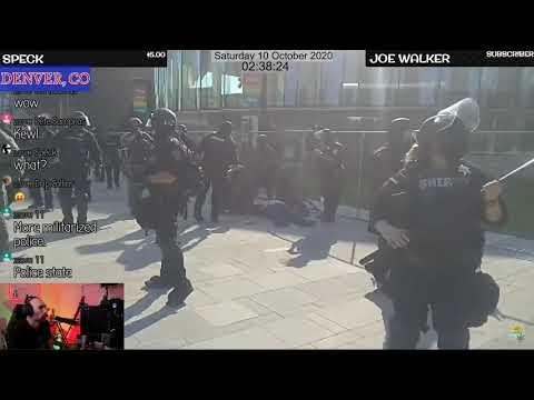 BREAKING:  Protester Just Shot During Denver, CO Protests