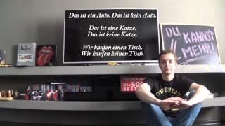NICHT oder KEIN? Куда ставить NICHT? Отрицание в немецком, урок 11.