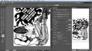 Converting Art To Vector With Image Trace From: Adobe Illustrator Cs6: Learn By Video