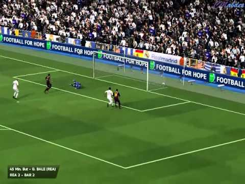 Fifa 14 - Coupe d'Espagne - Match #9 Real Madrid vs FC Barcelona (final)